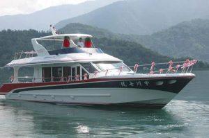 日月潭中川遊艇船隊