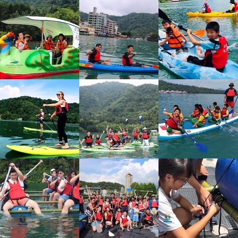 幸福日月潭水上活動體驗-SUP、獨木舟、划船