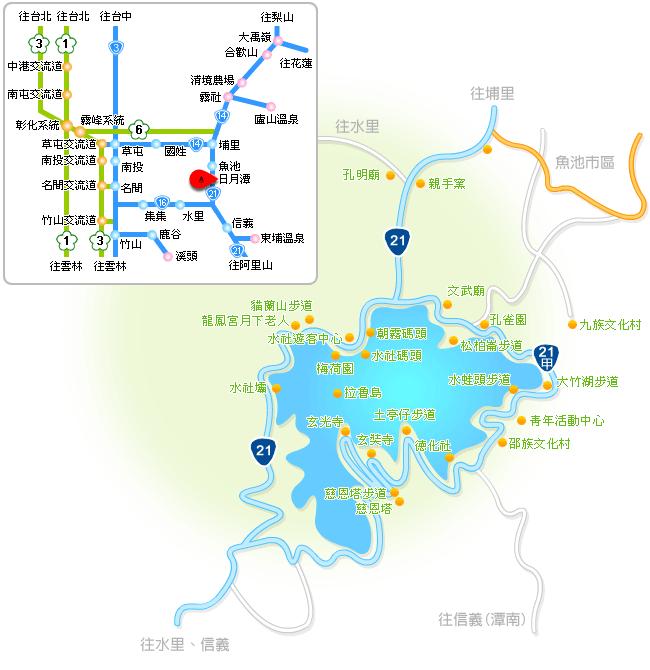 日月潭交通 | 交通懶人包《高鐵、台灣好行、開車、騎車》2020版