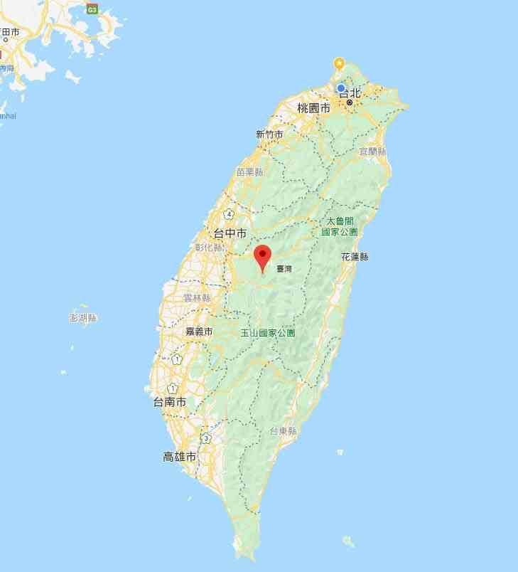 日月潭天氣 | 日月潭地理位置位於台灣中央