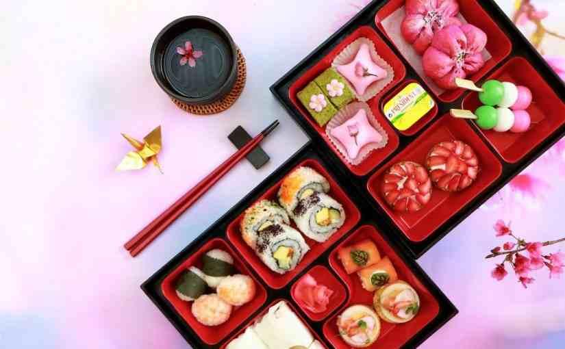 櫻花花茶食-涵碧樓提供-經濟日報