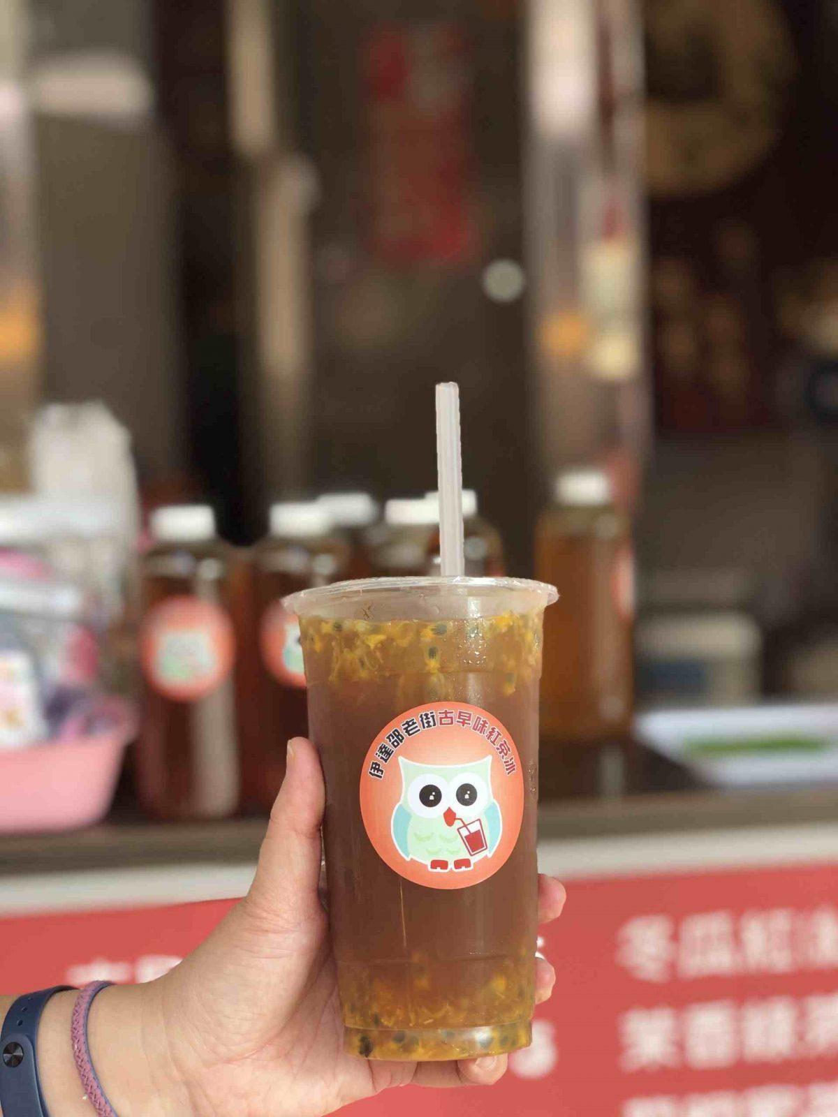 日月潭紅茶冰 日月潭紅茶 貓頭鷹古早味紅茶冰 百香果紅茶