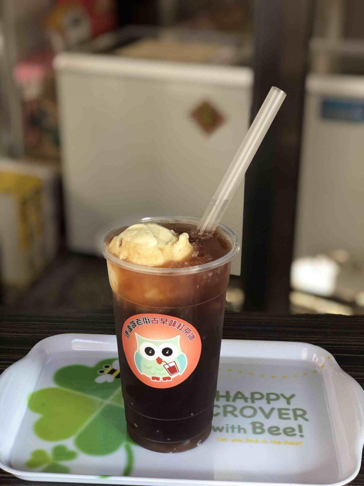 日月潭紅茶冰 日月潭紅茶 貓頭鷹古早味紅茶冰 冰淇淋紅茶