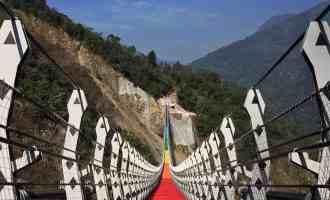 雙龍吊橋 南投新景點