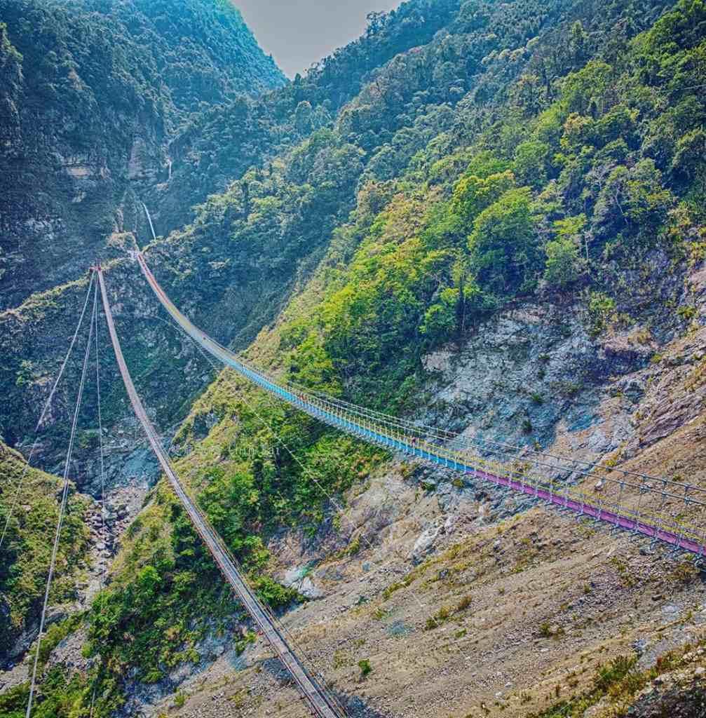 南投二日遊 |第二天:雙龍瀑布七彩吊橋