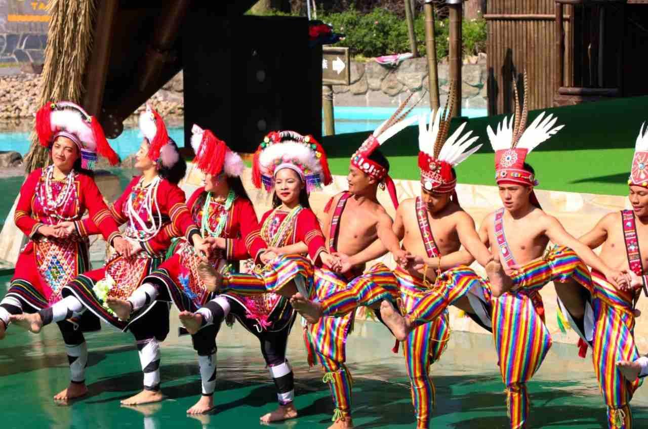 九族文化村 原住民表演