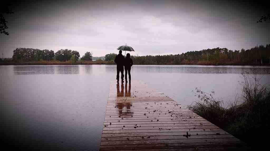 日月潭天氣-下雨天也是別有一番風味的
