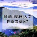 阿里山天氣 | 四季旅遊天氣指南 | 阿里山四季怎麼玩?
