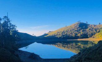 七彩湖........