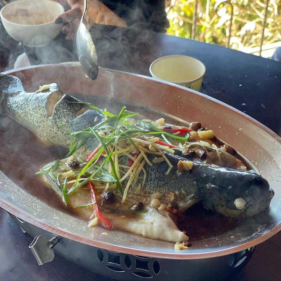 清境美食 伊拿谷景觀餐廳 甕缸雞