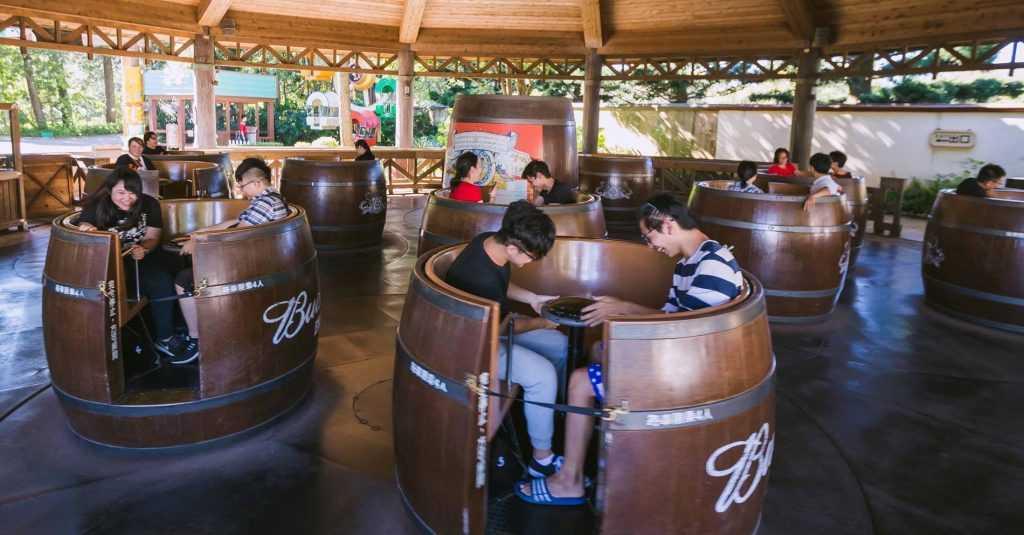 六福村-美國西部-醉酒桶-六福村官網