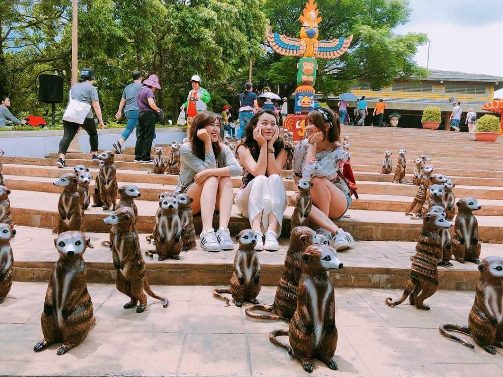 六福村-非洲部落-狐獴 jch_travel