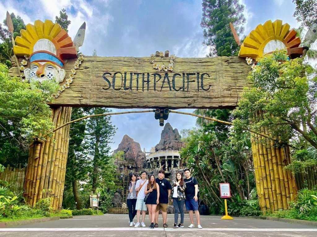 六福村主題樂園-遊樂設施-南太平洋-scourpad
