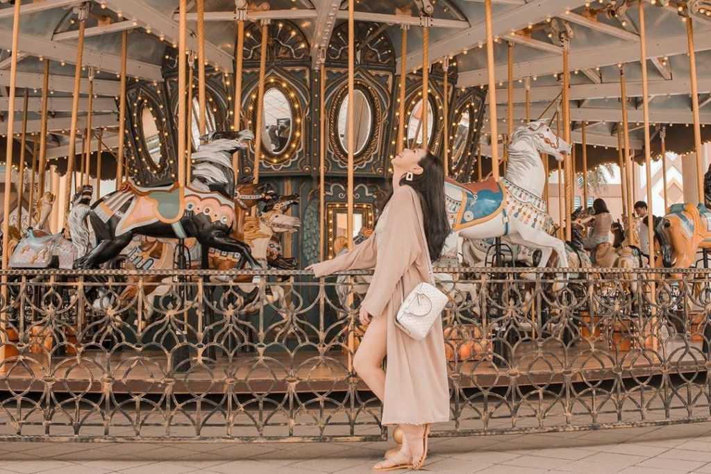 六福村主題樂園-遊樂設施-阿拉伯皇宮-旋轉木馬-imvanessabanana