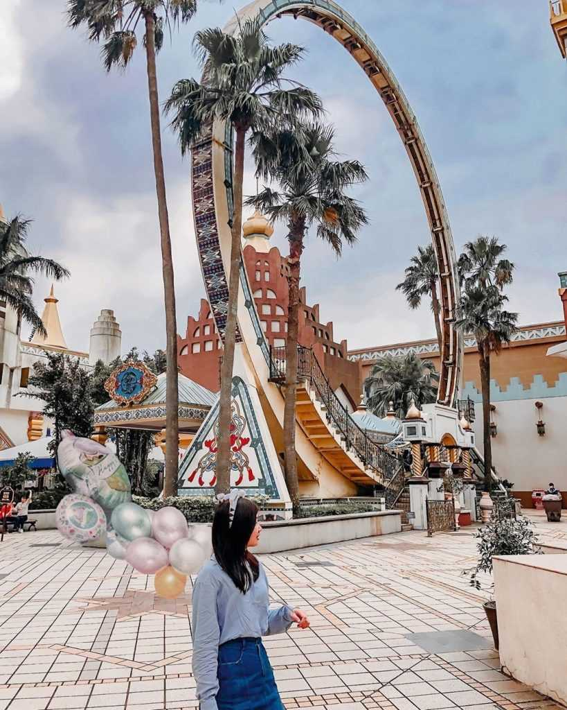 六福村-遊樂設施-阿拉伯皇宮-風火輪-rosiexdaily