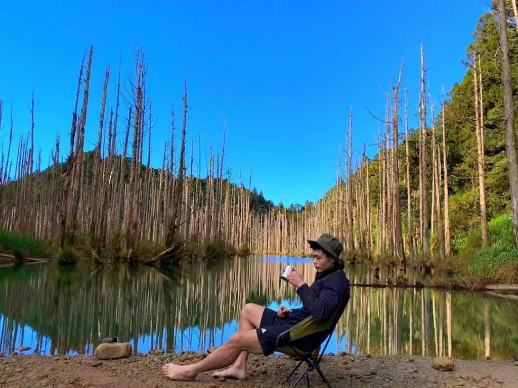 溪頭杉林溪景點 :水漾森林