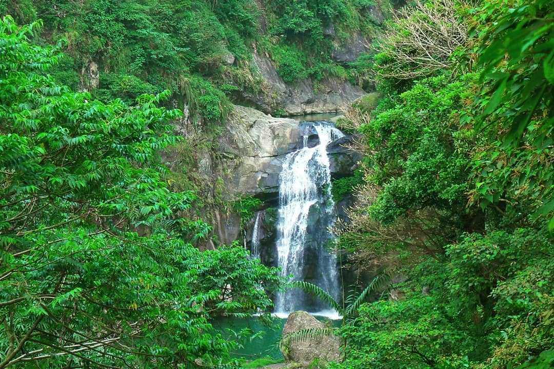 鳳凰谷鳥園生態園區 |瀑布