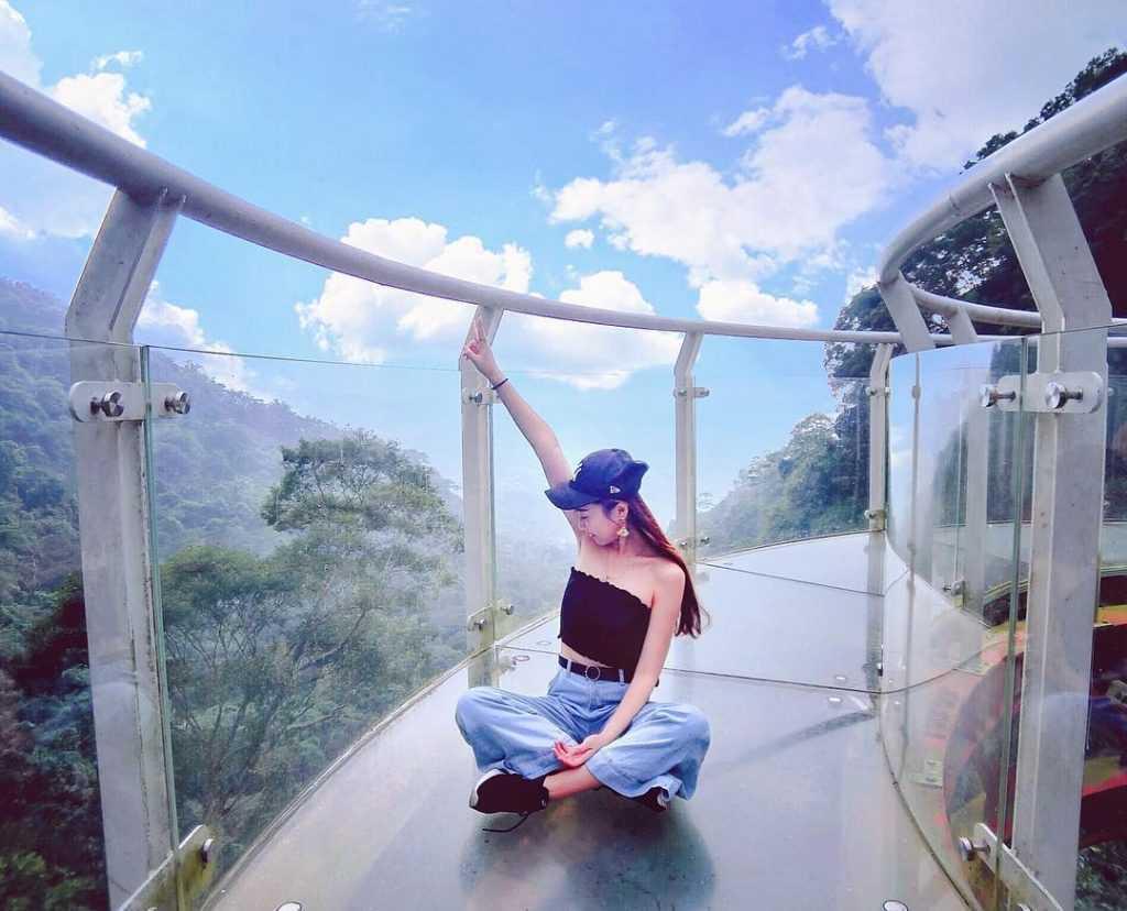 南投景點推薦 :龍鳳瀑布空中步道