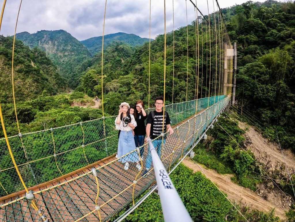 竹山旅遊景點 :瑞龍瀑布園區