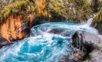 帖比倫峽谷瀑布