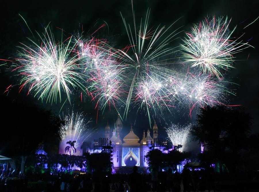 六福村暑假周末將上演璀璨煙火點亮夏夜星空
