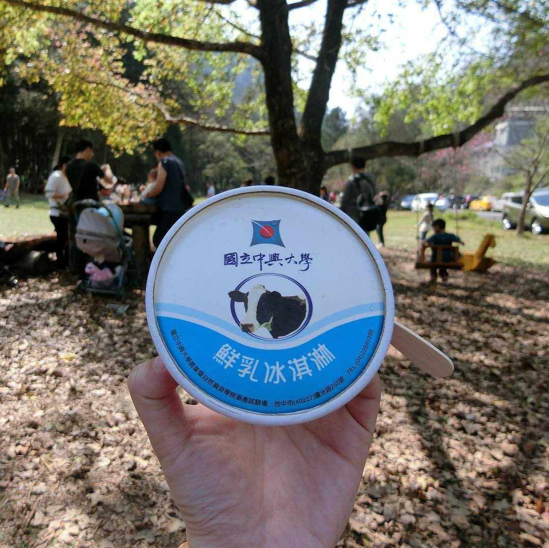 惠蓀實驗林場 |國立中興大學鮮乳冰淇淋