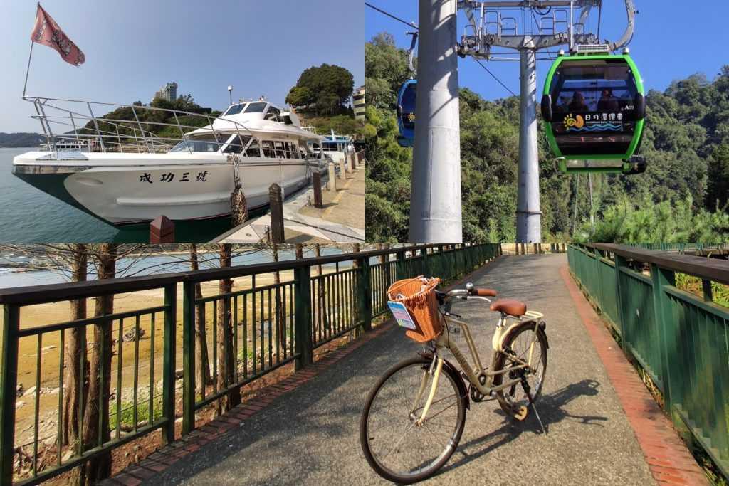 南投旅遊優惠 -日月潭遊湖體驗:纜車.自行車.遊湖船
