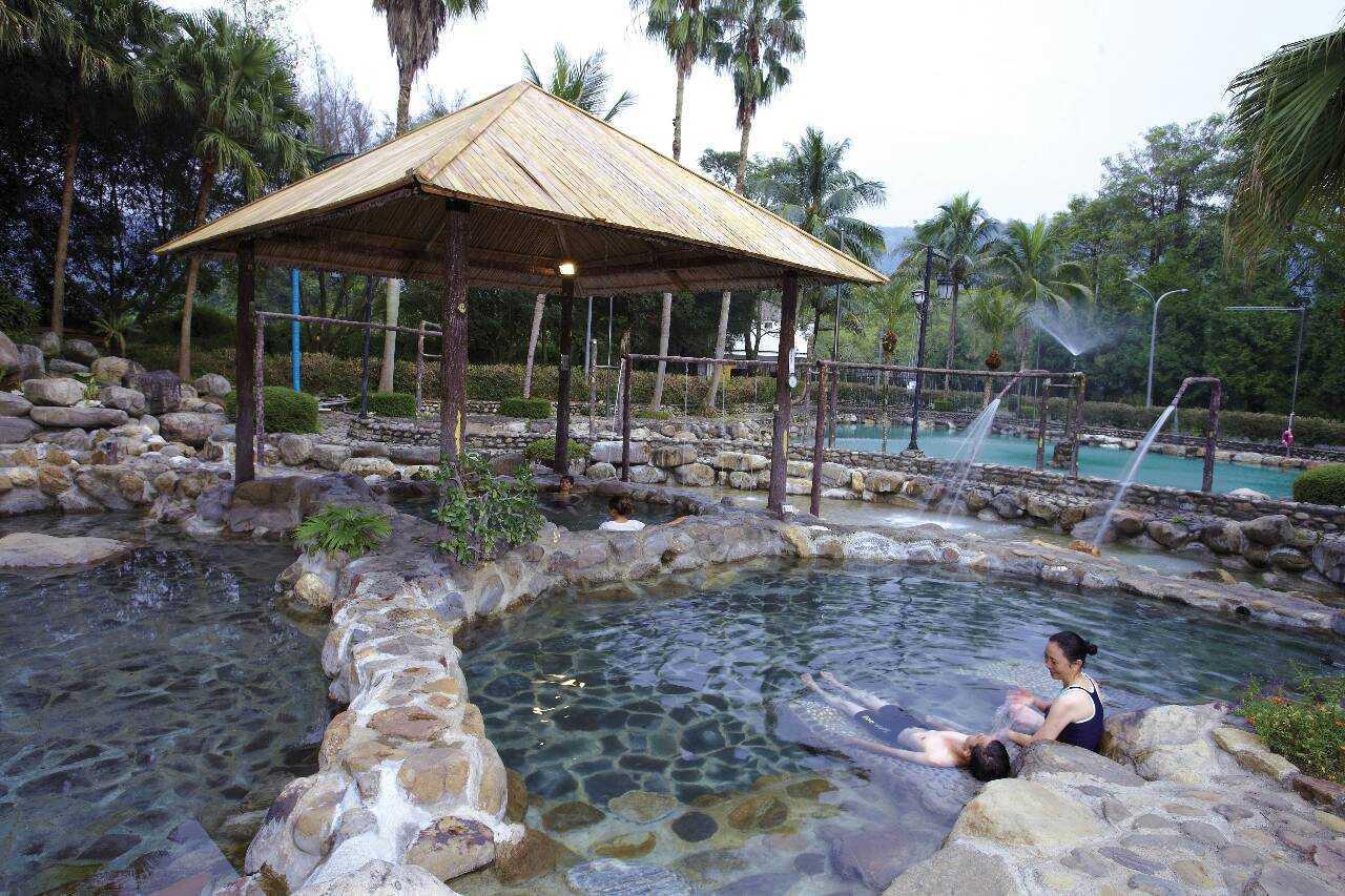 泰雅渡假村 |露天溫泉池