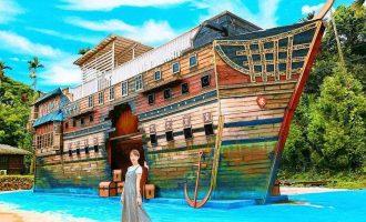 海盜村景觀彩繪園區 (2)