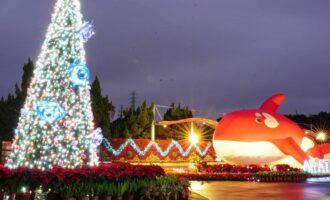 自來水博物館園區 |  公館聖誕季 台北親子景點|趣味親水樂園、古蹟秘境地下水宮殿