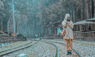 ▲阿里山鐵路▲instagram:@savy_0209