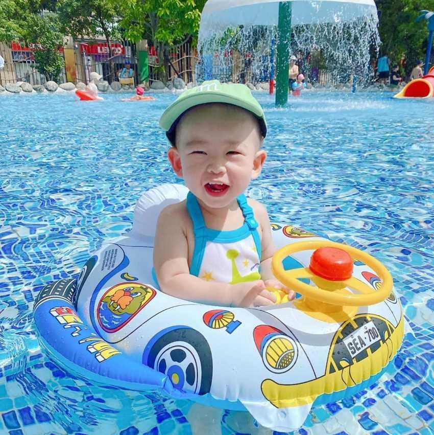 自來水博物館園區 | 台北親子景點推薦|水鄉庭園夏季開放中|乾淨安全玩水好去處