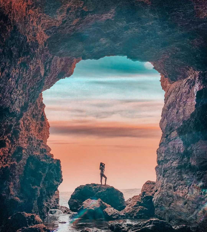 高雄景點推薦 |柴山海蝕洞