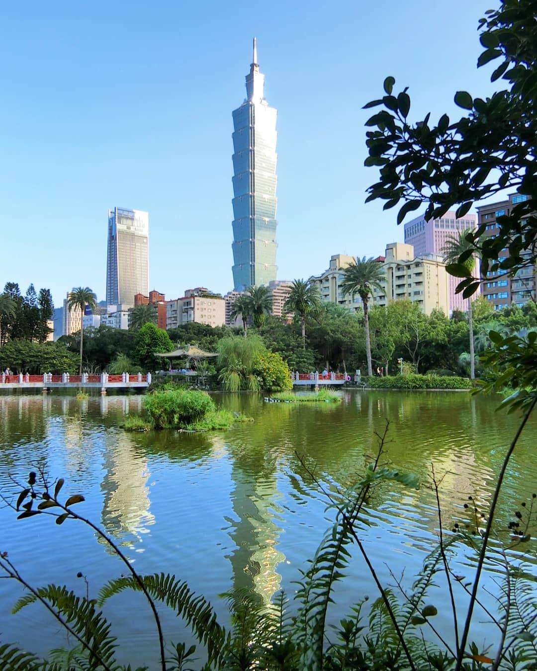 台北跨年2021活動,101煙火最美觀賞地點,翠湖