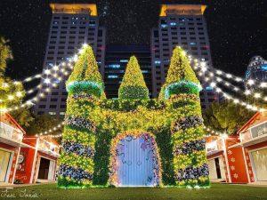 板橋新北耶誕城 | 2020聖誕最強攻略!路線地圖、亮燈時間、交通管制、迪士尼光雕來耶誕城!