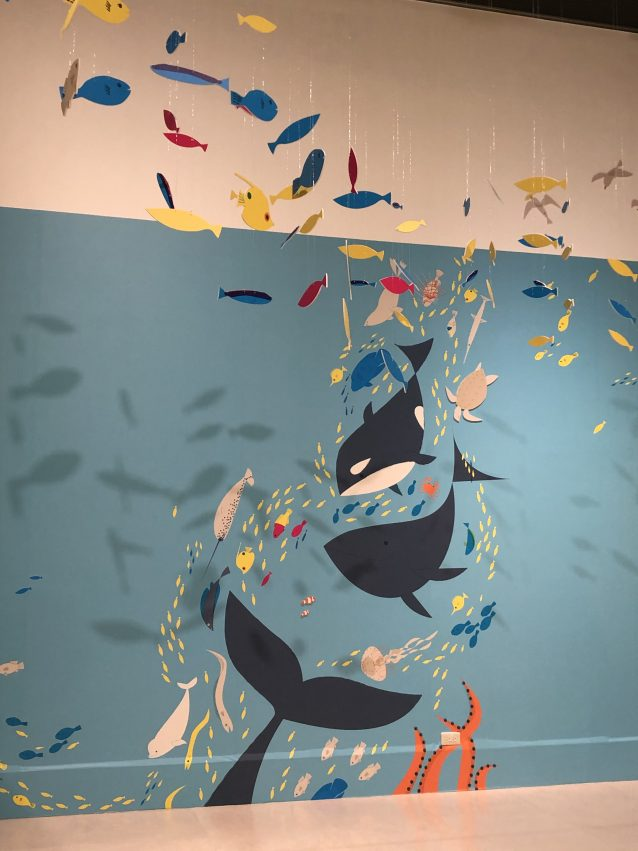 台南奇美博物館特展-紙上奇蹟2 用紙建構出大型的場景