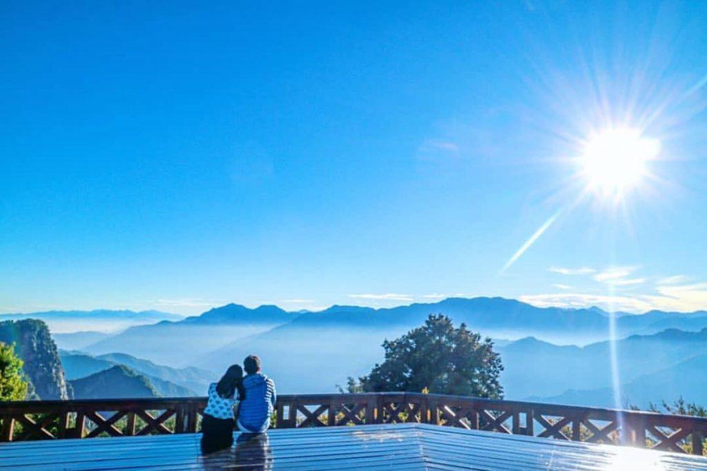 阿里山森遊區景點推薦 |#4 小笠原山觀景台