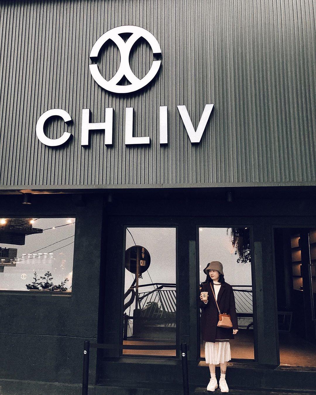 九份咖啡廳 CHLIV 冠軍拉花咖啡