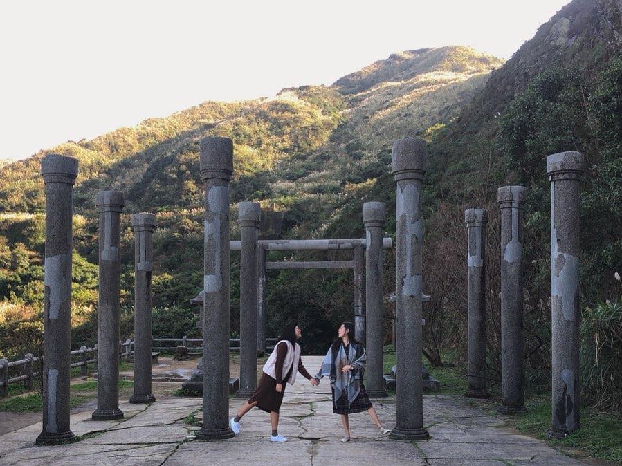 金瓜石神社 石柱