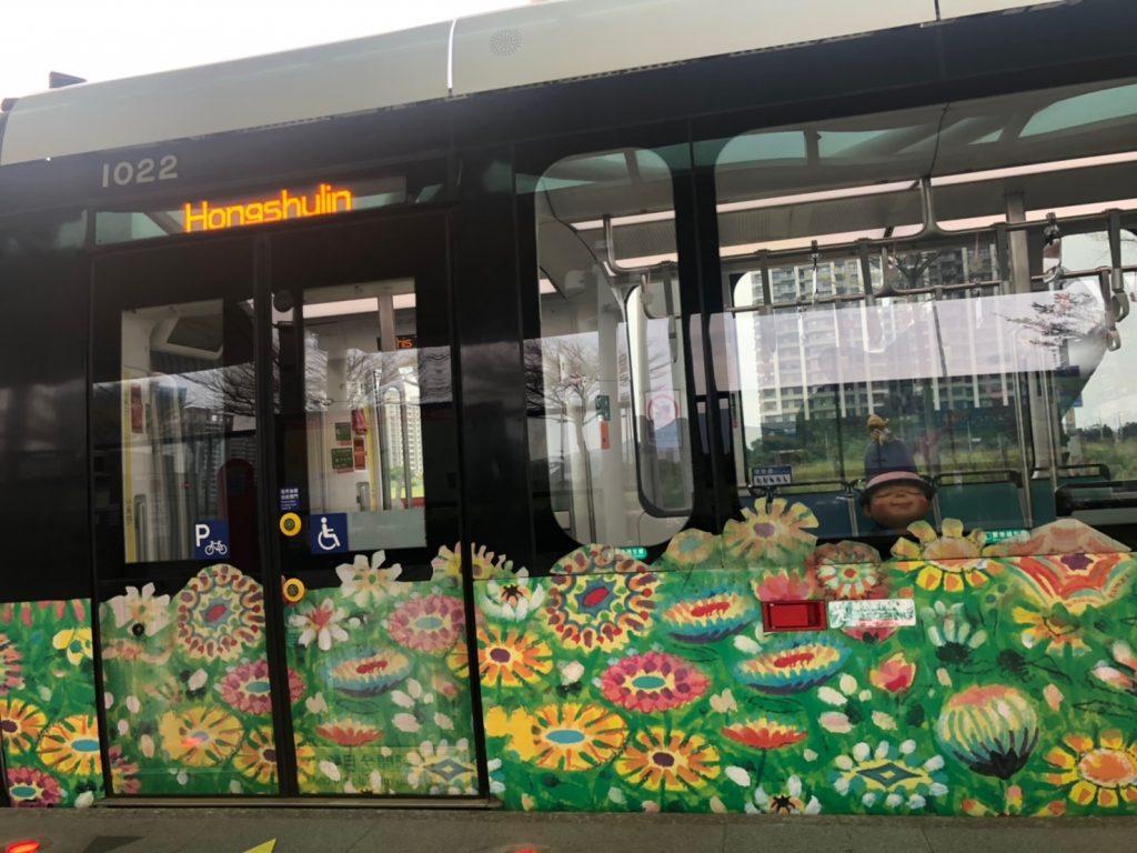 新北捷運,輕軌,幾米輕軌,淡海輕軌2020,淡海輕軌,紅樹林站