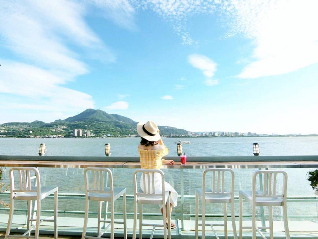 淡水,淡水景點,淡水私房景點,景點,淡水長堤 LB Cafe