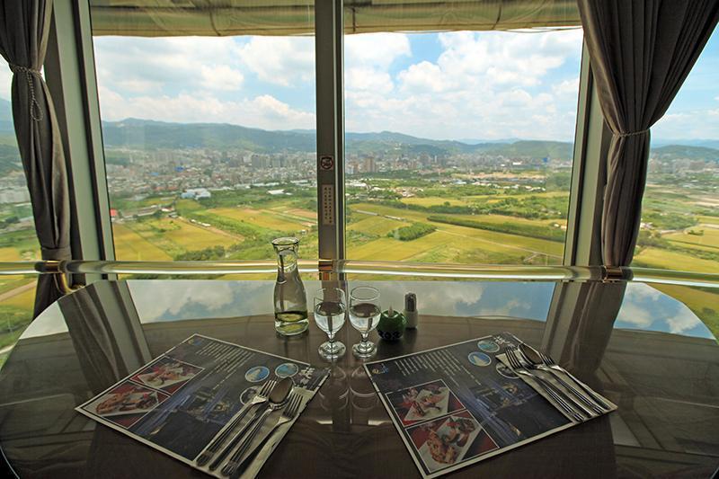 北投景觀餐廳,景觀餐廳,北投餐廳,星月樓,星月360度旋轉景觀餐廳