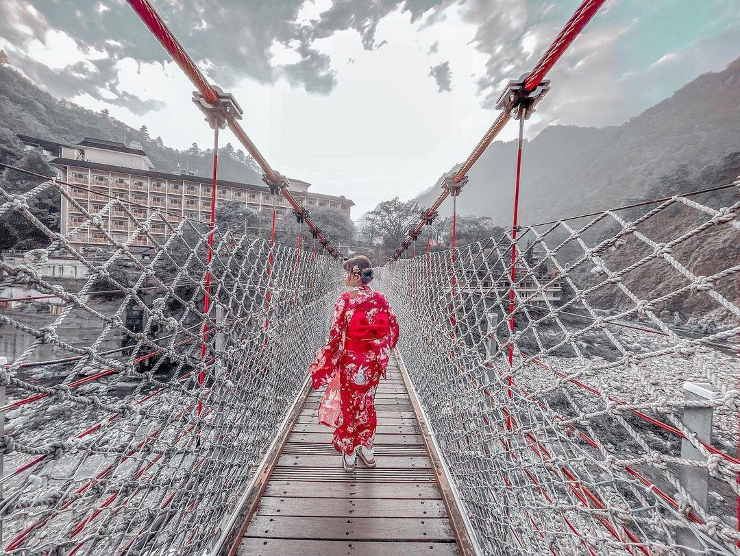 谷關大坑一日遊 谷關吊橋